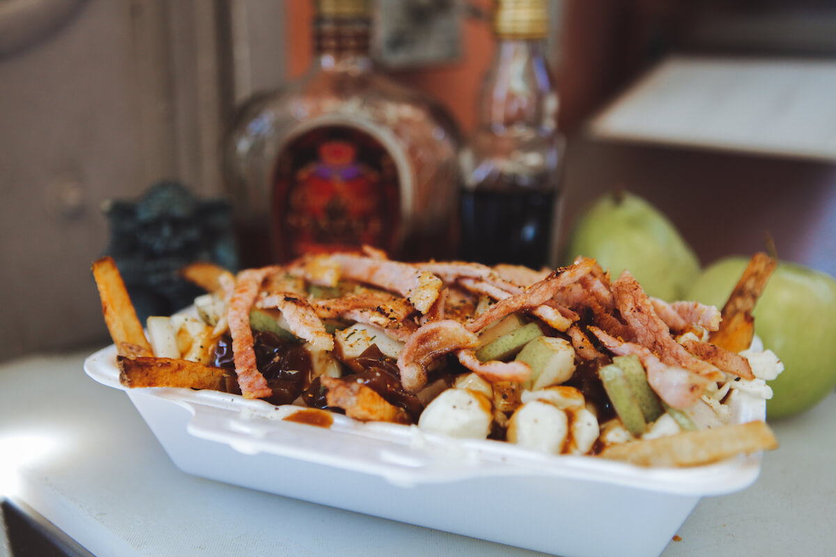 "Winner of the People's Choice Award: Chef In A Bun's ""The Great Canadian Poutine"""